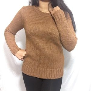 J.CREW Tan sweater size S